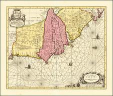 West Africa Map By Peter Schenk  &  Gerard Valk