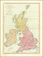 British Isles Map By Samuel Dunn
