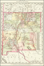 New Mexico Map By United States Department of the Interior