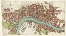 London Map By John Mottley