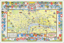 London Map By John Bartholomew