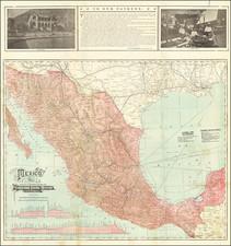 Mexico Map By Wynkoop & Hallenbeck
