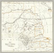 North Dakota, South Dakota, Montana and Wyoming Map By United States GPO