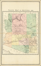 Arizona Map By H.R. Page