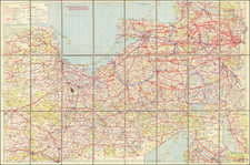 Germany, Poland, Baltic Countries and World War II Map By Anonymous