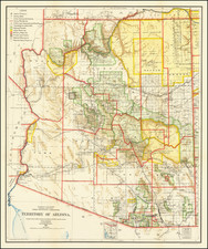 Territory of Arizona . . .1908 By General Land Office