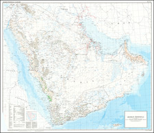 Arabian Peninsula Map By Ministry of Defence