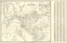 San Diego Map By Thomas Brothers