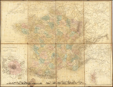 France Map By Drioux et Leroy