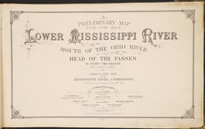 South, Louisiana, Mississippi, Midwest and Missouri Map By Smith S. Leach