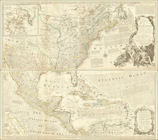 United States, Southeast, North America and American Revolution Map By Robert Sayer