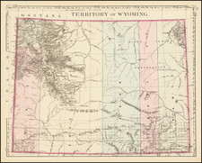 Territory of Wyoming By Samuel Augustus Mitchell Jr.