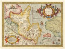 Tartariae Sive Magni Chami Regni typus By Abraham Ortelius