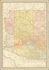 Arizona Map By William Rand  &  Andrew McNally