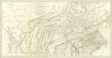 A Map of Pennsylvania Exhibiting not only the Improved Parts of that Province, but also Its Extensive Frontiers:  Laid down from Actual Surveys, and Chiefly From The Late Map of W. Scull Published in 1770 . . .  By Nicholas Scull