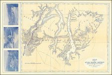 Alaska and Canada Map By Brownlee & Lowry
