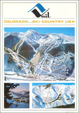 Colorado, Colorado and Pictorial Maps Map By Hal Shelton
