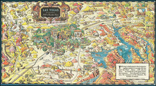 Nevada and Pictorial Maps Map By Raymond Winters