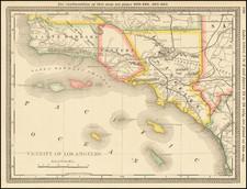 California and Los Angeles Map By Rand McNally & Company