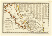 Cette Carte De Californie et Du Nouveau Mexique . . . 1700 [The Island of California -- First Edition!] By Nicolas de Fer