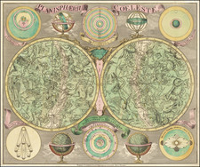 Celestial Maps Map By Tobias Conrad Lotter