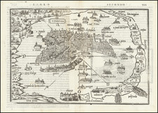 Venice Map By Benedetto Bordone