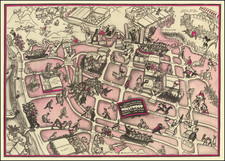 Pictorial Maps and Los Angeles Map By John Groth
