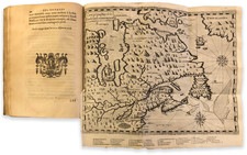 Europe and Europe Map By Samuel de Champlain