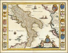 Map By Matheus Merian