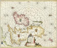 British Isles Map By Johannes Van Keulen