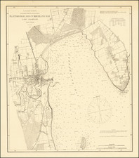 New York State Map By U.S. Coast Survey