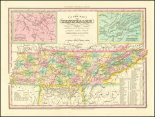 Tennessee Map By Henry Schenk Tanner