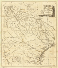 Southeast and Georgia Map By Universal Magazine