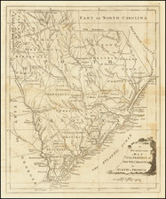 Southeast and South Carolina Map By Universal Magazine