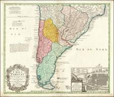 South America Map By Homann Heirs