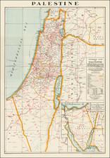 Holy Land Map By Alexander Nicohosoff