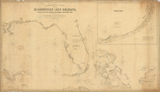 Florida, Louisiana, Alabama, Mississippi and Bahamas Map By George Eldridge