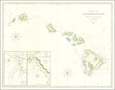 Hawaii and Hawaii Map By Aaron Jr. & Samuel Arrowsmith