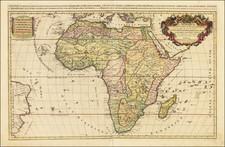 Africa Map By Alexis-Hubert Jaillot