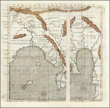 India, Southeast Asia, Indonesia, Thailand, Cambodia, Vietnam and Central Asia & Caucasus Map By Francesco Berlinghieri