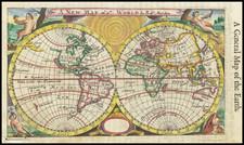 World Map By Robert Morden
