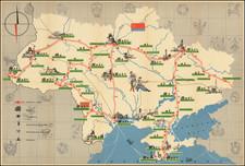 Ukraine Map By Ukrainian Ministry of Culture