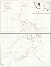 Philippines Map By Direccion Hidrografica de Madrid