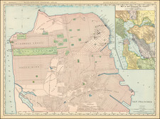 San Francisco Map By William Rand  &  Andrew McNally