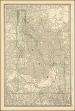 Rand McNally & Co.'s Idaho By William Rand  &  Andrew McNally