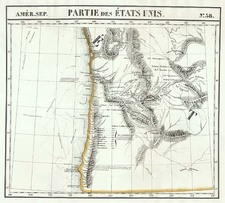 Map By Philippe Marie Vandermaelen