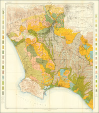 California and Los Angeles Map By U.S. Department of Agriculture