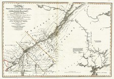 New England and Canada Map By William Faden