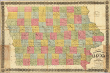Iowa Map By Silas Chapman