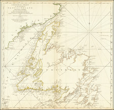 Canada and Eastern Canada Map By Thomas Jefferys